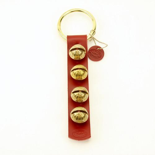 TRADITIONAL STRAP BELLS -  #2 Size Bells - 4 Bells on Strap