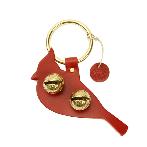 Red with Brass Bells