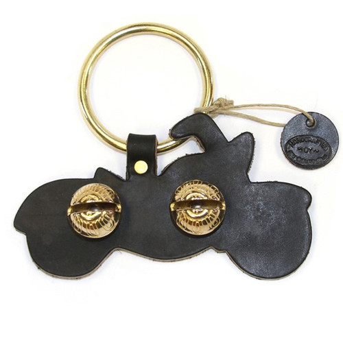 Black with Brass Bells