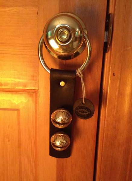 TRADITIONAL STRAP BELLS -  #2 Size Bells - 2 Bells on Strap