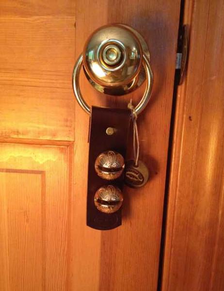 TRADITIONAL STRAP BELLS - #1 Higher Tone Bell - 2 bells per strap
