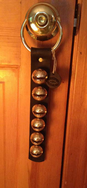 TRADITIONAL STRAP BELLS - #1 Higher Tone Bell - 6 bells per strap