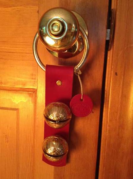 TRADITIONAL STRAP BELLS - #4 Size Bells - 2 bells on Strap