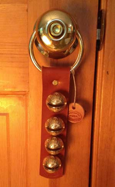 TRADITIONAL STRAP BELLS - #1 Higher Tone Bell - 4 bells per strap