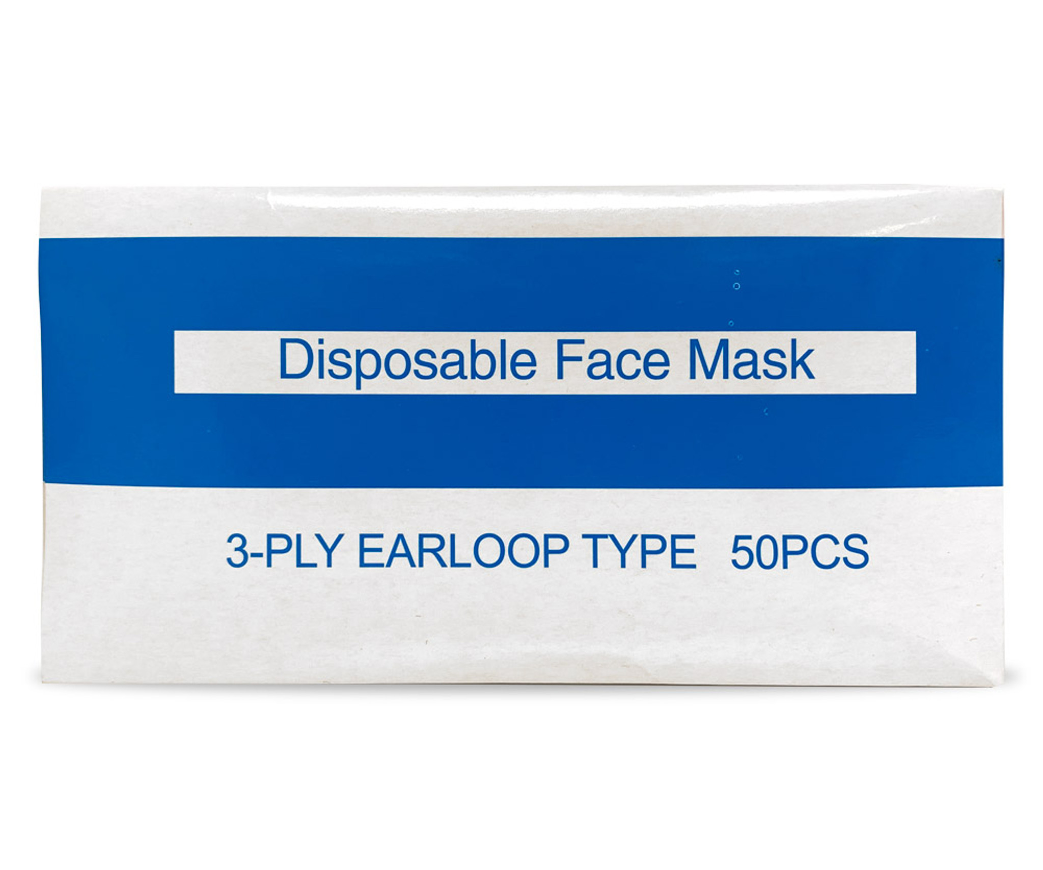 Face Mask - Box with 50 units  $0.60/ea