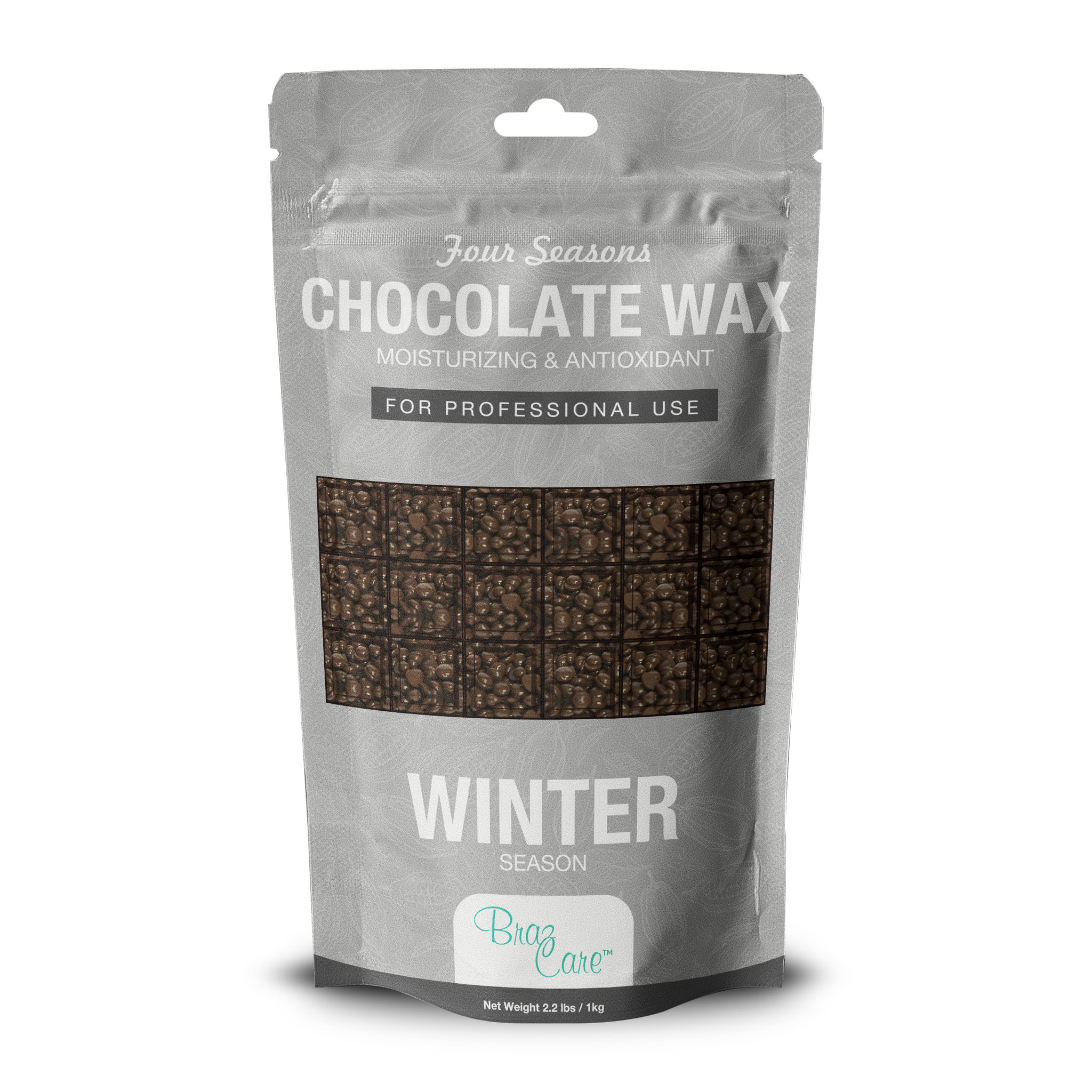 Hard Wax Chocolate 2.2lb - Box of 12 units ($12.90/Ea)