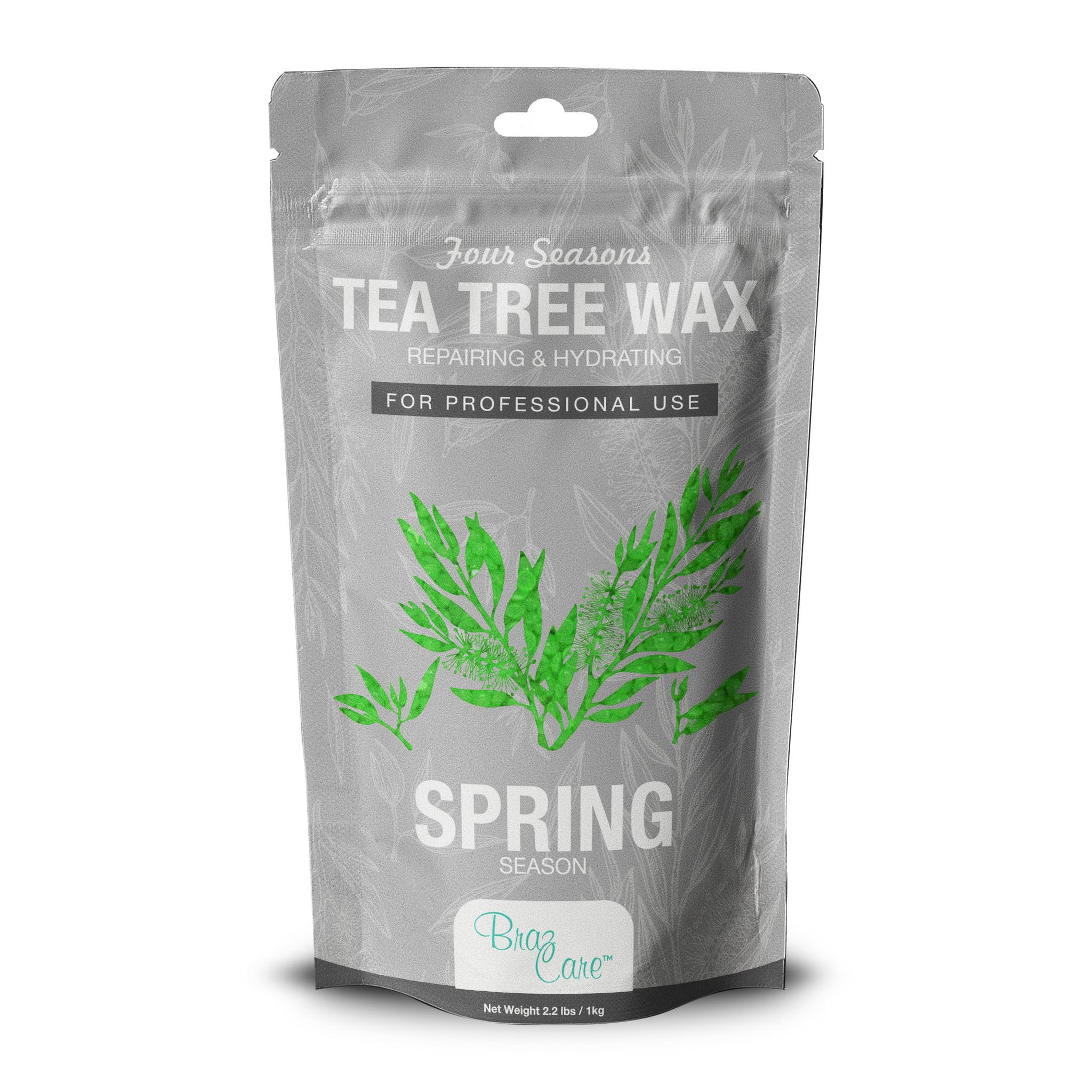 Hard Wax Tea Tree 2.2lb - Box of 12 units ($12.90/Ea)