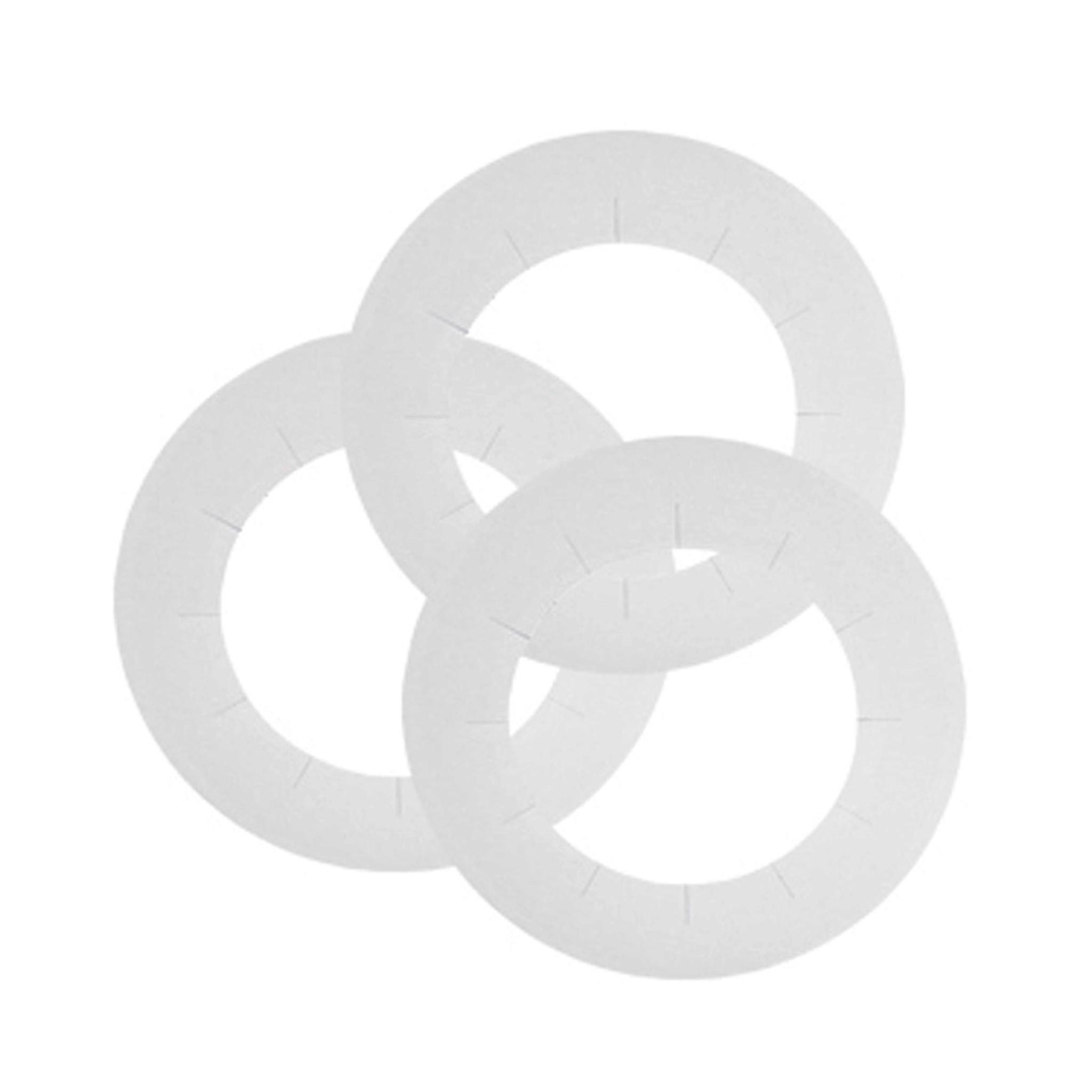 Disposable Cardboard Heater Collars (50 pcs)
