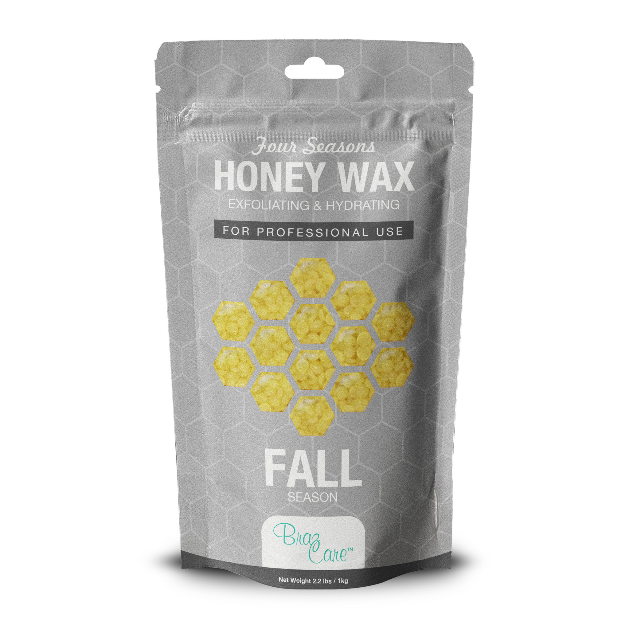 Hard Wax Honey 2.2lb/1 kg
