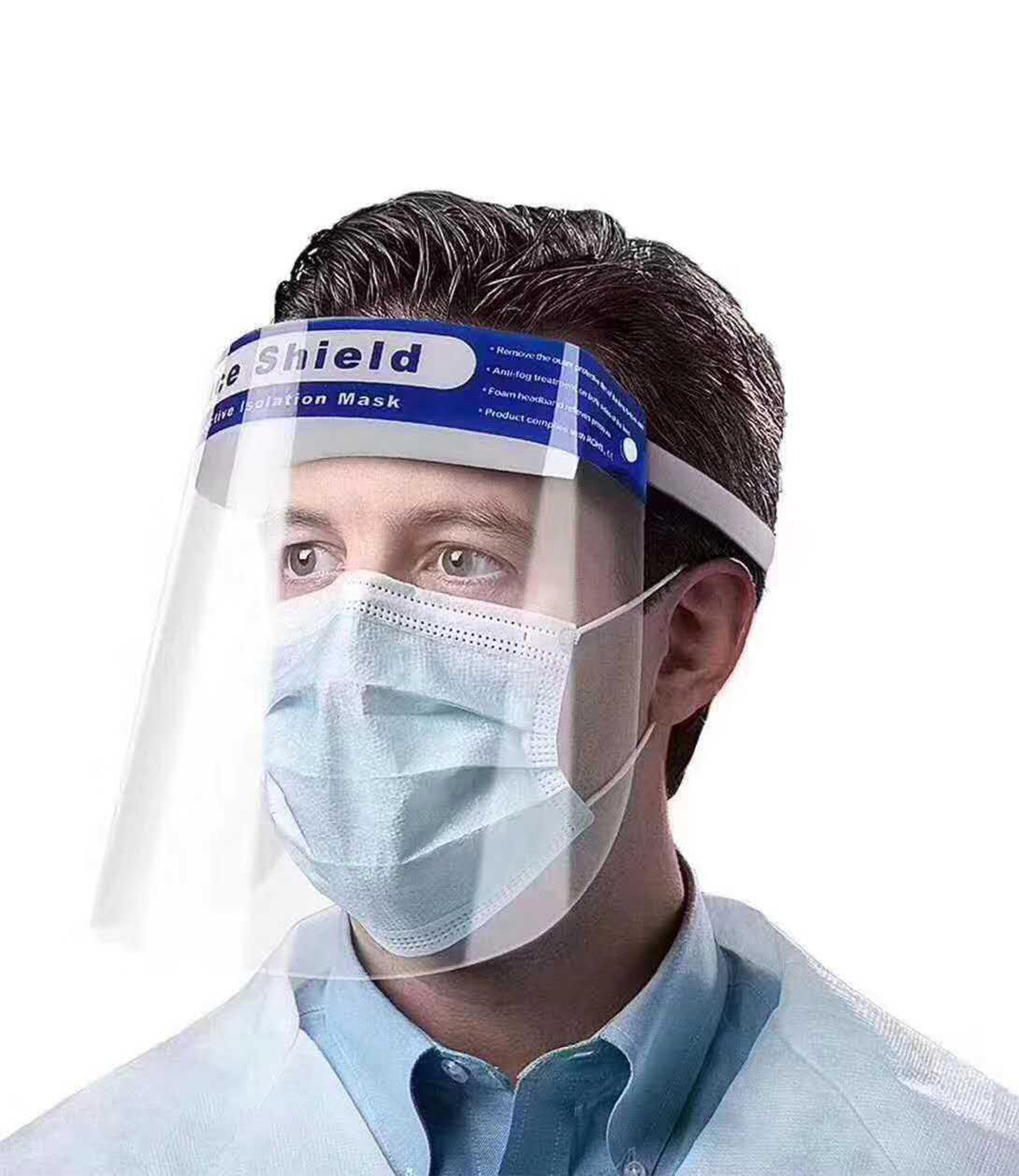Safety Face Shield Transparent Protective Mask