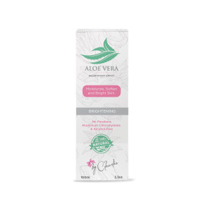 Aloe Vera Deodorant Spray - 100% Natural 3.3 fl. Oz/100 ml