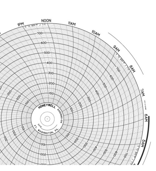 24001660-014 Honeywell chart paper