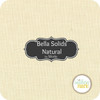 Bella Solids Natural - Layer Cake (9900LC 12) by Moda House Designer for Moda