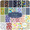 I Spy - Scrap Bag (IS.SB) by Mixed Designers for Southern Fabric