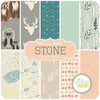 Hello, Bear Stone - Layer Cake (BC.HB.ST.20LC) by Bonnie Christine for Art Gallery