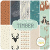 Hello, Bear Timber - Layer Cake (BC.HB.TI.20LC) by Bonnie Christine for Art Gallery