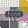 Hooked Fat Quarter Bundle (12 pcs) by Mister Domestic for Art Gallery (FQW-HKD)