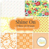 Shine On - Yellow and Orange Fat Quarter Bundle (7 pcs) by Bonnie and Camille for Moda (BC.SH.YO.FQ)