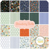 Strawberry Fields Fat Quarter Bundle (20 pcs) by Rifle Paper Co. for Cotton and Steel (RP400P-FQB)