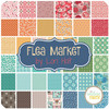 Flea Market Jelly Roll (40 pcs) by Lori Holt for Riley Blake (RP-10210-40)