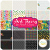 Art Theory Jelly Roll (40 pcs) by Alison Glass for Andover (2S-ART-X)