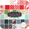 Sunday Stroll Charm Pack (42 pcs) by Bonnie and Camille for Moda (55220PP)