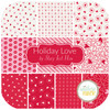 Holiday Love Fat Quarter Bundle (10 pcs) by Stacy Iest Hsu for Moda (20750AB)