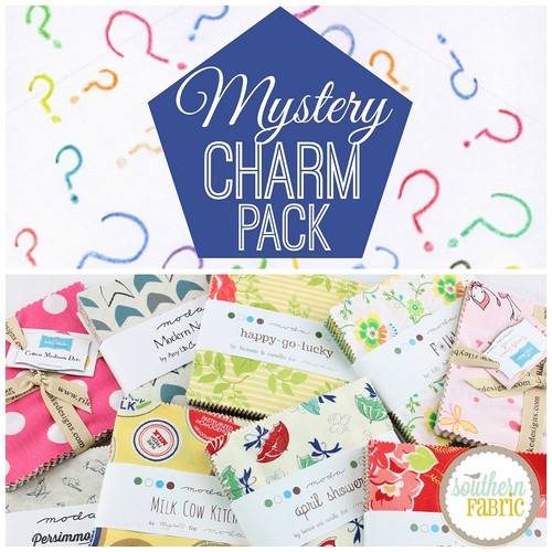 "Mystery 5""x5"" Charm Pack Squares"