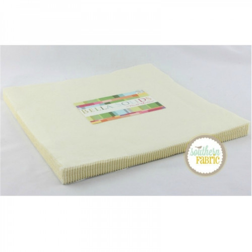 Bella Solids Snow - Layer Cake (9900LC 11) by Moda House Designer for Moda