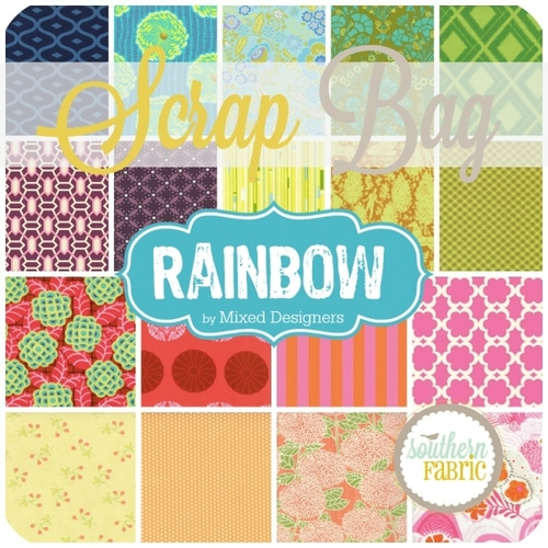 Rainbow (approximately 2 yards) Scrap Bag (RAIN.SB)