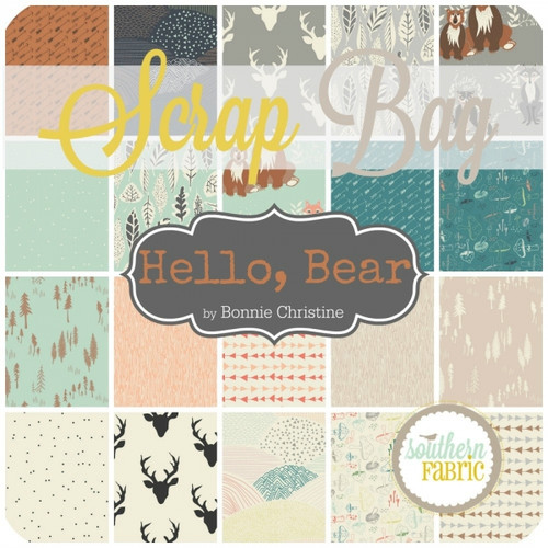 Hello, Bear - Scrap Bag (BC.HB.SB) by Bonnie Christine for Art Gallery