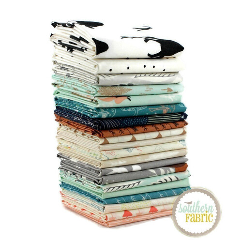 Hello, Bear - Fat Quarter Bundle (BC.HB.20FQ) by Bonnie Christine for Art Gallery