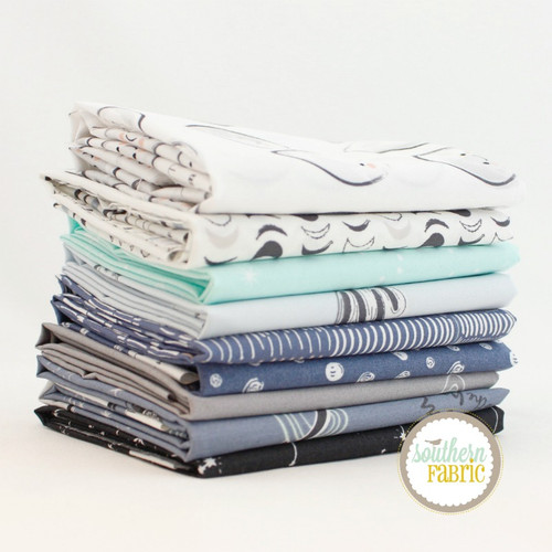 Stargazer Fat Quarter Bundle (9  pcs) by Art Gallery Fabrics