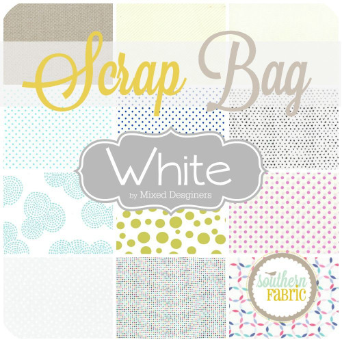 Low Volume Scrap Bag (approx 2 yards) by Mixed Designers for Southern Fabric
