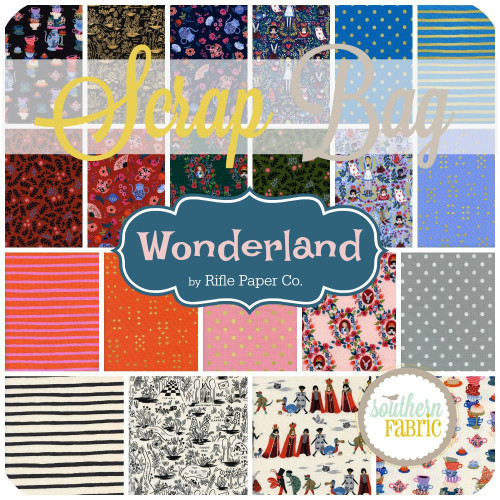 Wonderland Scrap Bag (approx 2 yards) by Rifle Paper Co. for Cotton and Steel (RPC.WO.SB)