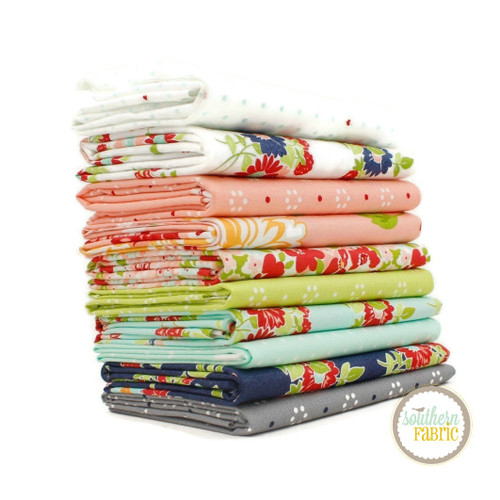 The Good Life Fat Quarter Bundle (10 pcs) by Bonnie and Camille for Moda (BC.GL.FQ)