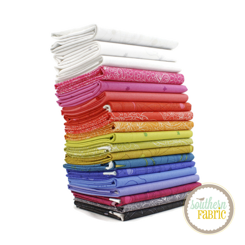 Sun Print 2018 Fat Quarter Bundle (19 pcs) by Alison Glass for Andover