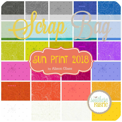 Sun Print 2018 Scrap Bag (approx 2 yards) by Alison Glass for Andover (AG.SU18.SB)