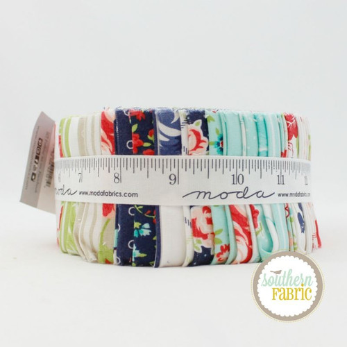 Smitten Jelly Roll (40 pcs) by Bonnie and Camille for Moda (55170JR)