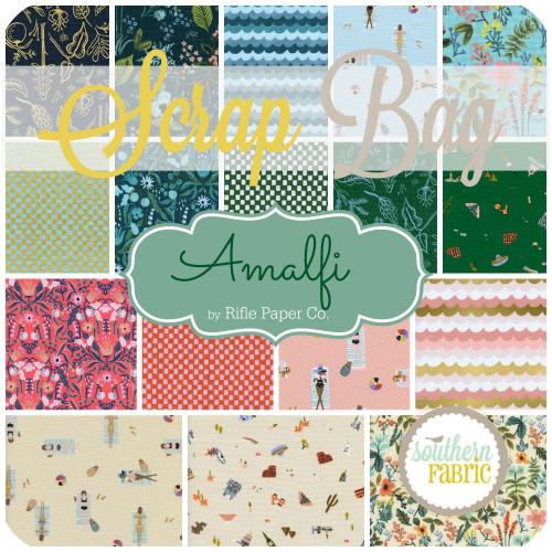 Amalfi Scrap Bag (approx 2 yards) by Rifle Paper Co. for Cotton and Steel (RPC.AM.SB)