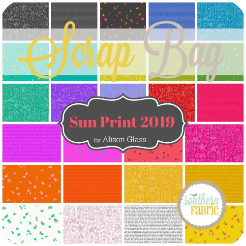 Sun Print 2019 Scrap Bag (approx 2 yards) by Alison Glass for Andover (AG.SU.2019.SB)