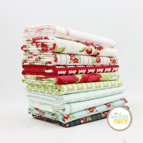 Little Snippets Fat Quarter Bundle (10 pcs) by Bonnie and Camille for Moda