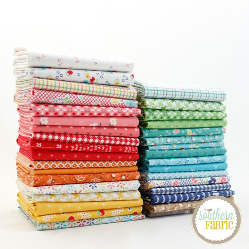 Farm Girl Vintage - Fat Eighth Bundle (33 pcs) by Lori Holt for Riley Blake (LH.FGV.33F8)