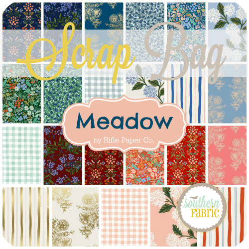 Meadow - Scrap Bag (approx 2 yards) by Rifle Paper Co. for Cotton and Steel (RPC.ME.SB)