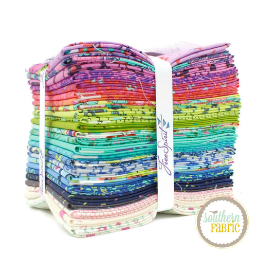 HomeMade Fat Quarter Bundle (25 pcs) by Tula Pink for Free Spirit (FB2FQTP.HomeMade)
