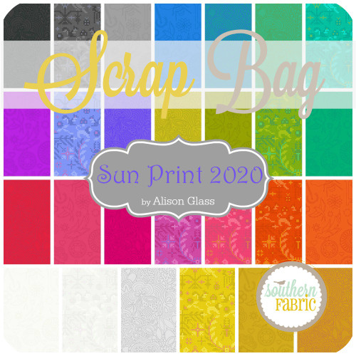 Sun Print 2020 Scrap Bag (approx 2 yards) by Alison Glass for Andover (AG.SUP.2020.SB)