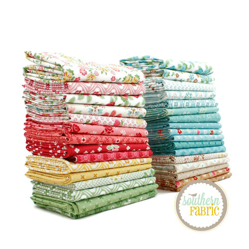 Granny Chic - Fat Eighth Bundle (32 pcs) by Lori Holt for Riley Blake (LH.GC.F8)