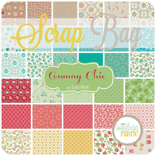 Granny Chic Scrap Bag (approx 2 yards) by Lori Holt for Riley Blake (LH.GC.SB)