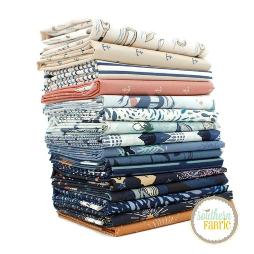 Enchanted Voyage Fat Quarter Bundle (16 pcs) by Maureen Cracknell for Art Gallery (MC.EV.FQ)