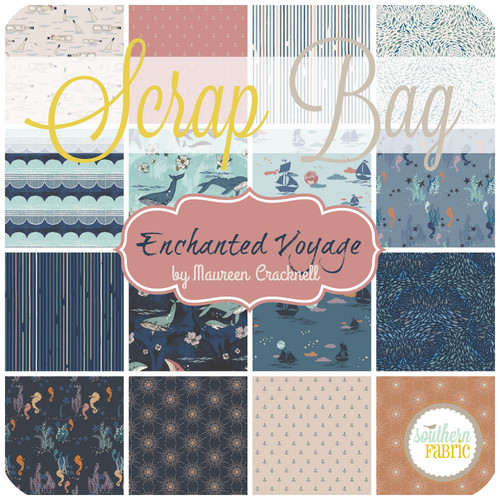Enchanted Voyage Scrap Bag (approx 2 yards) by Maureen Cracknell for Art Gallery (MC.EV.SB)